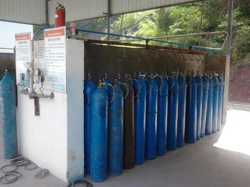Trung Quốc High Purity Industrial Oxygen Nitrogen Gas Plant 240 Cylinders , Max Pressure 20Mpa nhà cung cấp