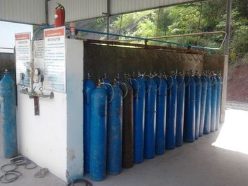 Trung Quốc Liquid Air Gas Separation Plant ,  Skid-mounted Oxygen Plant Filling Cylinder Decive nhà cung cấp